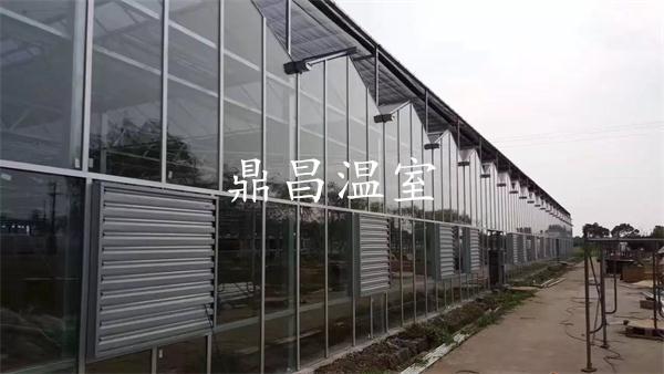 智能中空玻璃温室